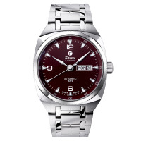 M Automatic Maroon Brown 6121-01